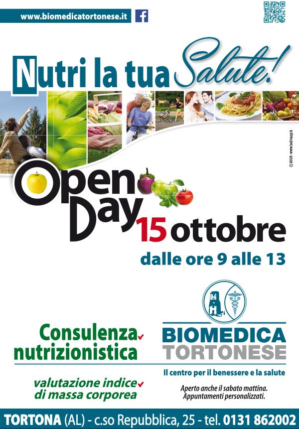 Open Day consulenza nutrizionistica
