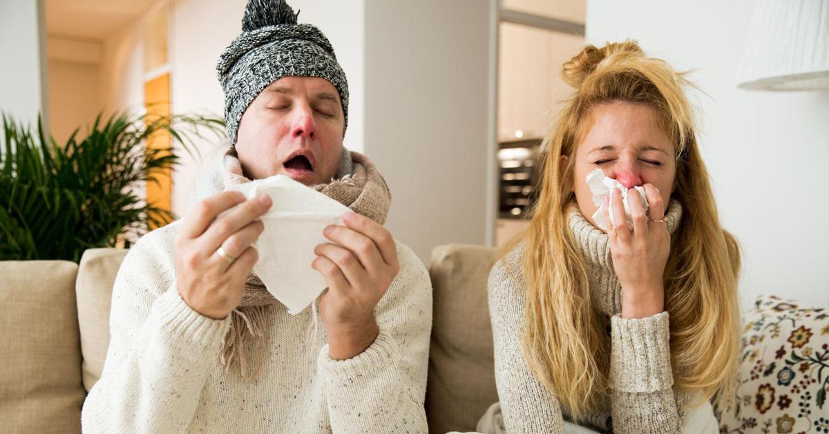 Come far passare influenza e raffreddore